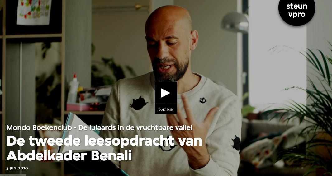 VPRO MONDO BOEKENCLUB over 'De luiaards in de vruchtbare vallei'