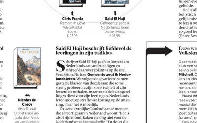 'Gemeente zegt ik Nederlands leren' in De Volkskrant